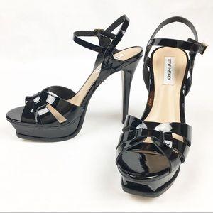Steve Madden Kannada NWOB Patton Leather Heels 9.5